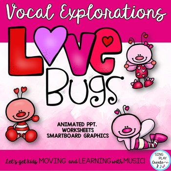 """February Vocal Explorations: Valentine's Theme with Fun """"sounds"""""""