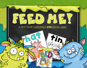 FEED ME: A FAST MOVING CVC FLUENCY GAME