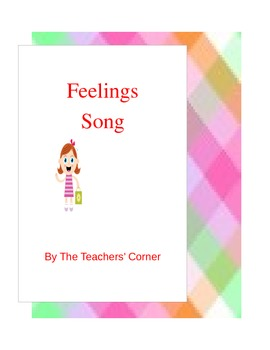 Feelings Song...Song Verses Based on Ten Common, Everyday