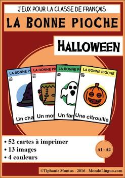 French/FFL/FSL - Games - Go Fish - Halloween