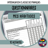 French/FFL/FSL - Questionnaires - Habits