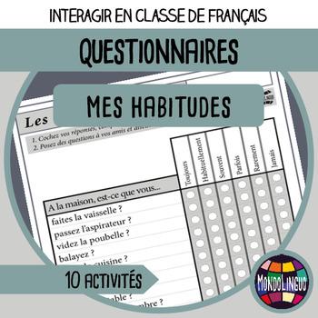 French/FFL/FSL - Questionnaires - Habits