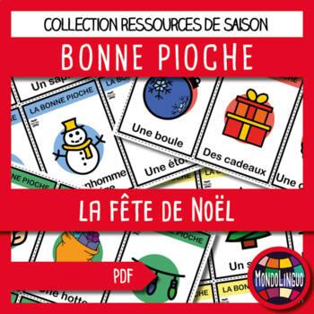French/FFL/FSL - Games - Go Fish - Christmas