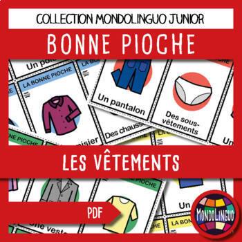 French/FFL/FSL - Games - Go Fish - Clothing