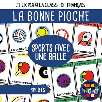 French/FFL/FSL - Games - Go Fish - Sport with a ball