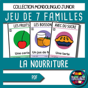 French/FFL/FSL - Games - Seven families - Food