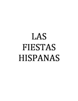 FIESTAS HISPANAS