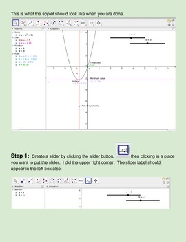 F.IF.4 Discover Quadratic Key Features