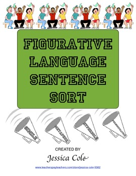 FIGURATIVE LANGUAGE: Sentence Sort Activity