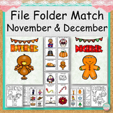 FILE FOLDER MATCHING November and December