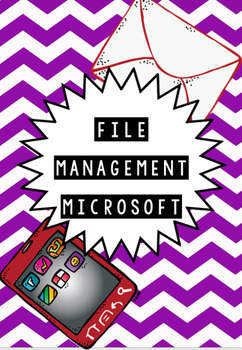 FILE MANAGEMENT - MICROSFT OFFICE - 15 ASSIGNMENTS NO PREP