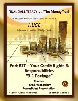 FINANCIAL LITERACY - The Money Trail Part 17 – Your Credit