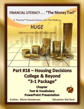 FINANCIAL LITERACY - The Money Trail Part 18 Housing Colle
