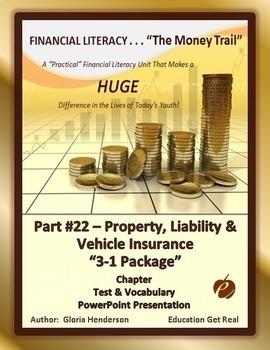 FINANCIAL LITERACY - TheMoneyTrail Part 22 PropertyLiabili