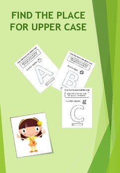 FIND THE PLACE FOR UPPER CASE