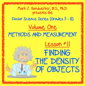 Lesson 11 - FINDING THE DENSITY OF OBJECTS