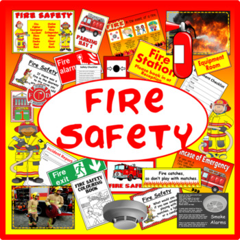 FIRE SAFETY + ROLE PLAY RESOURCES DISPLAY EARLY YEARS KS1-