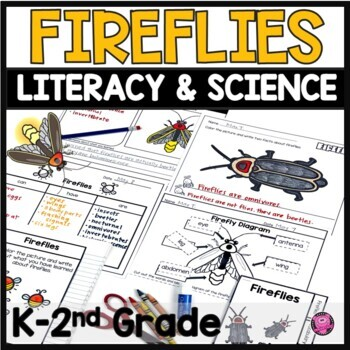 FIREFLIES INTERACTIVE RESEARCH FLIP TAB BOOKS for BEGINNERS