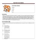 FIRST FTC Robotics Syllabus - High School