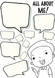 FIRST WEEK OF SCHOOL All About Me - Favourites & Feelings