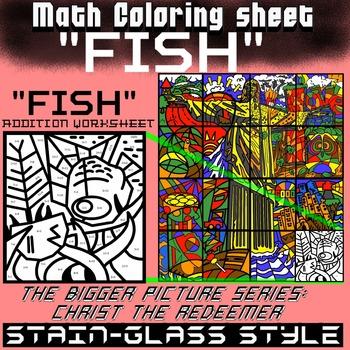 Fish, Math addition - Bigger picture series (Redeemer) Math