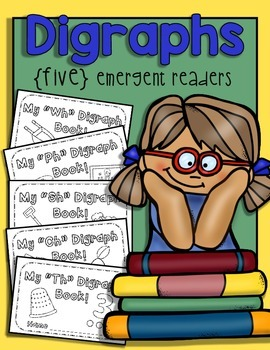 {FIVE} Digraph Emergent Readers