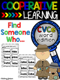 Cooperative Learning Structure Find Someone Who...can read