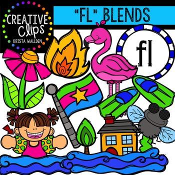 FL Blends {Creative Clips Digital Clipart}