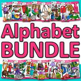 FLASH DEAL ~ Alphabet Clip Art GROWING BUNDLE - 416 Graphics!