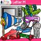 A - Z Alphabet Clip Art Bundle - Letter Recognition, Ident