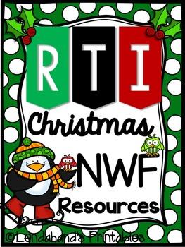 Blackout Bingo CHRISTMAS NWF RTI Resource by Ms. Lendahand