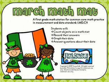 March Math Mat