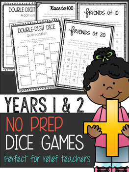 No Prep Dice Games *Year 1 & 2*