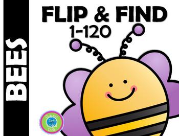 FLIP & FIND ~Math Center 1-120~ BEES!