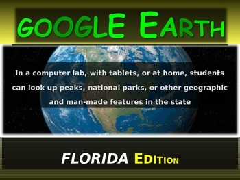 """FLORIDA"" GOOGLE EARTH Engaging Geography Assignment (PPT"