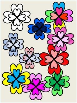 FLOWERS CLIP ART  FLORES
