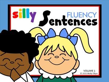 FLUENCY PASSAGES * SILLY MIX AND MATCH FLIP BOOK