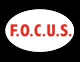 F.O.C.U.S. -  A mini-unit on Revising, Editing, and Proofreading