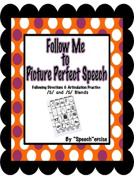 FOLLOW ME TO PICTURE PERFECT SPEECH-Follow Directions Arti