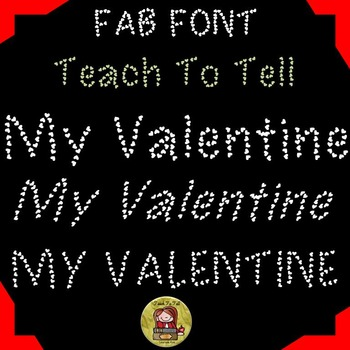 FONT FOR COMMERCIAL USE  - DECORATIVE FONT - TEACHTOTELL M