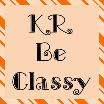 FONT - KR Be Classy (Commercial & Personal Use)
