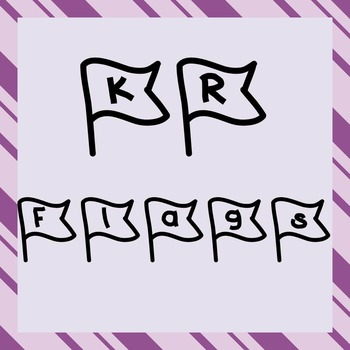 FONT - KR Flags (Commercial & Personal Use)