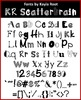 FONT - KR Scatterbrain (Commercial & Personal Use)