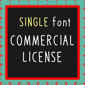 FONT - Single Font Commercial License