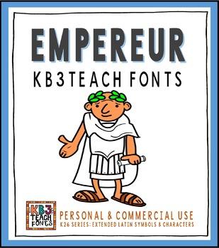 FONTS: KB3 Colonne (5-Font Set)