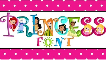 FONTS - Princess Font - Commercial and Personal use
