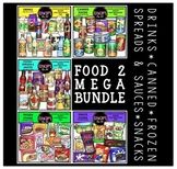 FOOD 2 Clip Art Mega Bundle