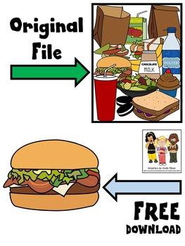 FOOD CLIP ART FREEBIE