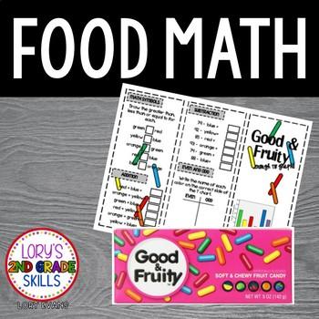FOOD MATH -  Good and Fruity Math