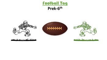PE FOOTBALL TAG